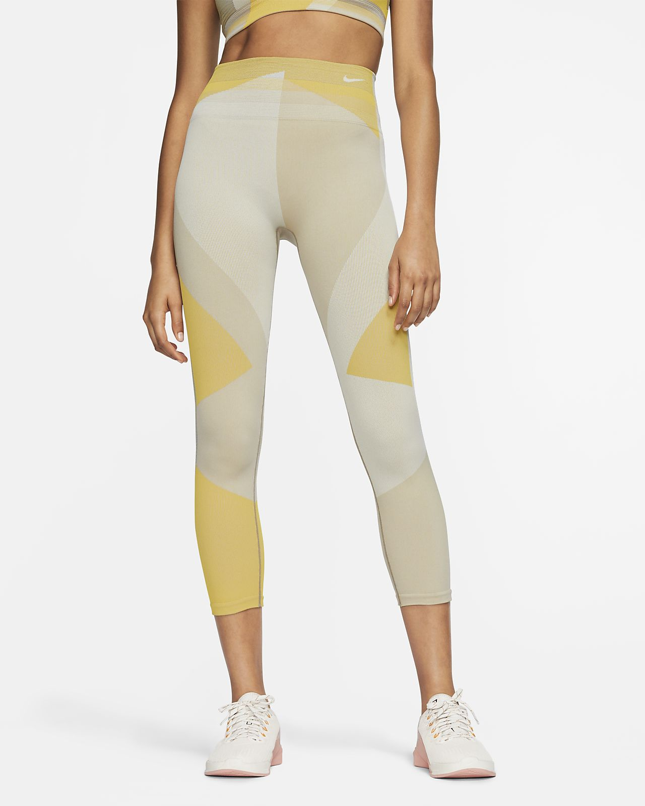 Legging de training 7/8 sans coutures Nike Sculpt Icon Clash pour Femme