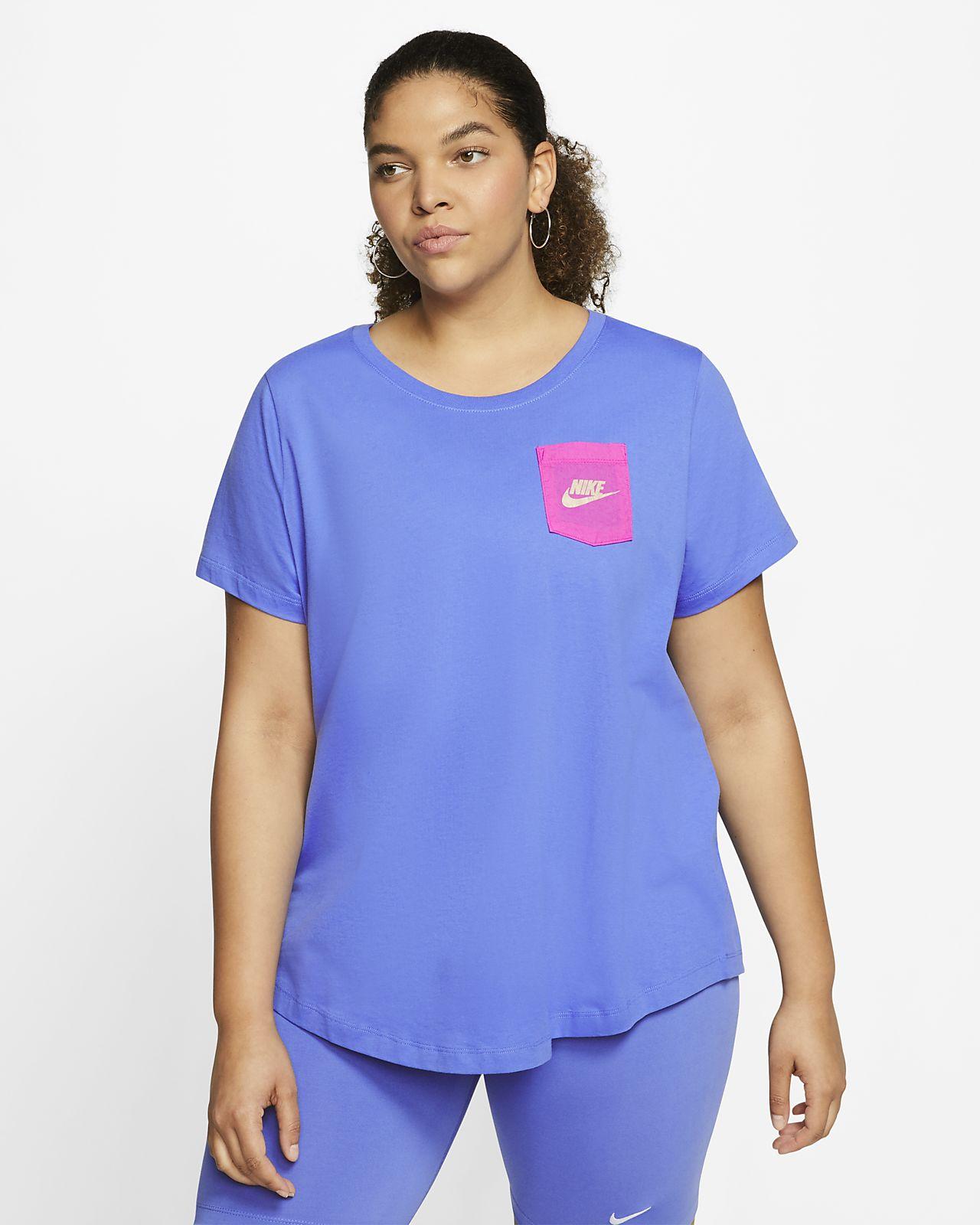 Nike Sportswear Icon Clash Women's T-Shirt (Plus Size)