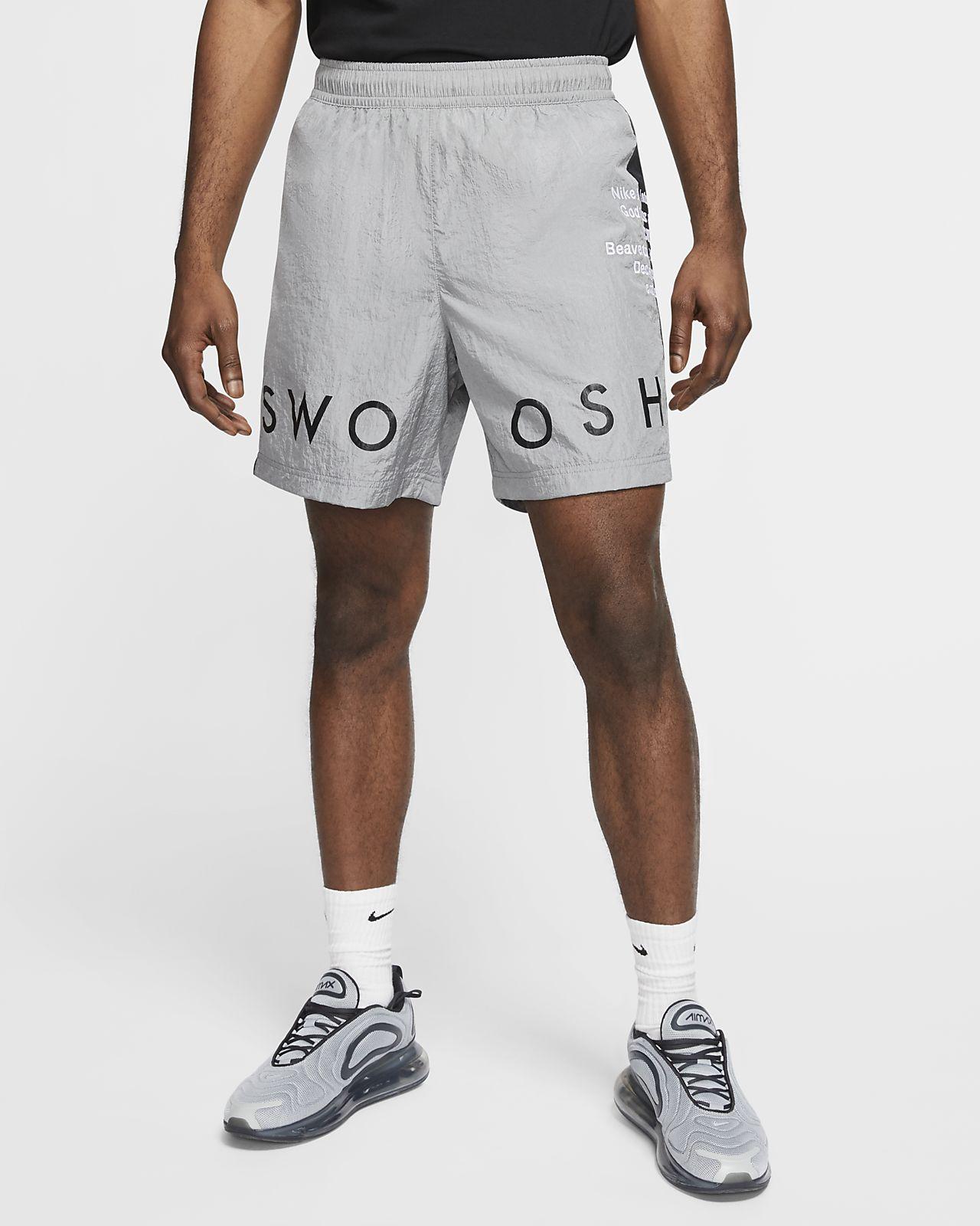 Short tissé Nike Sportswear Swoosh pour Homme