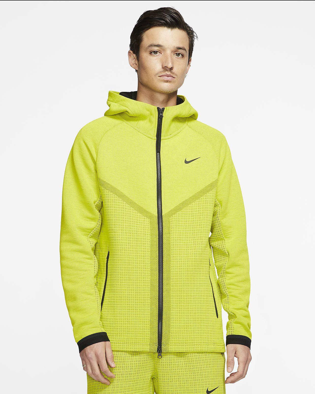 Huvtröja Nike Sportswear Tech Pack Windrunner med dragkedja i fullängd för män