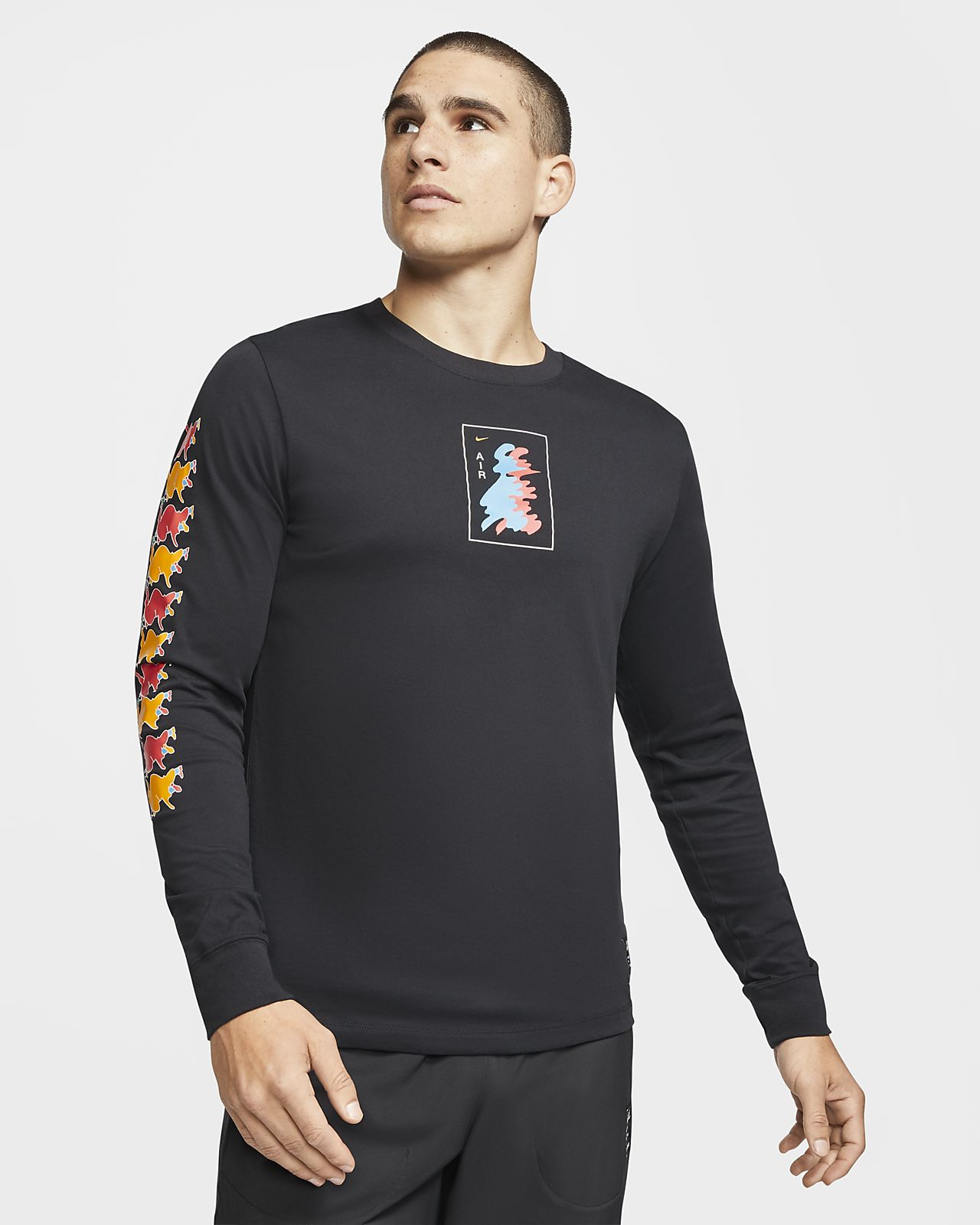 T-shirt a manica lunga Nike Dri-FIT A.I.R. T-shirt da running a manica lunga - Uomo