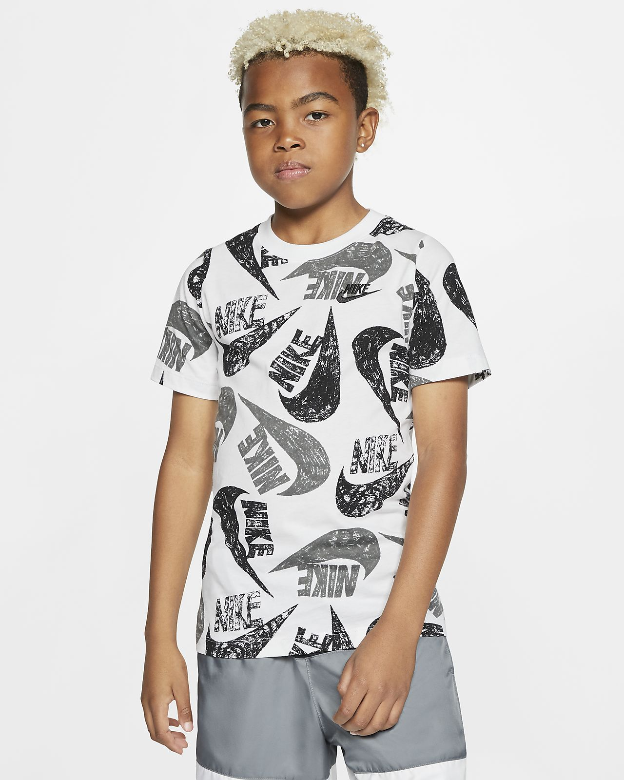 T-Shirt Nike Sportswear για μεγάλα αγόρια