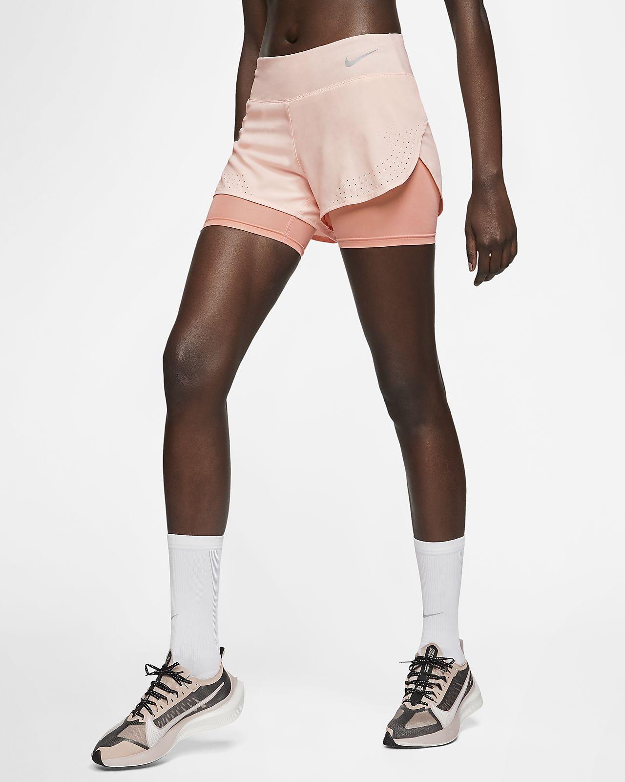 Nike 10K mønstret løpeshorts til dame. Nike NO