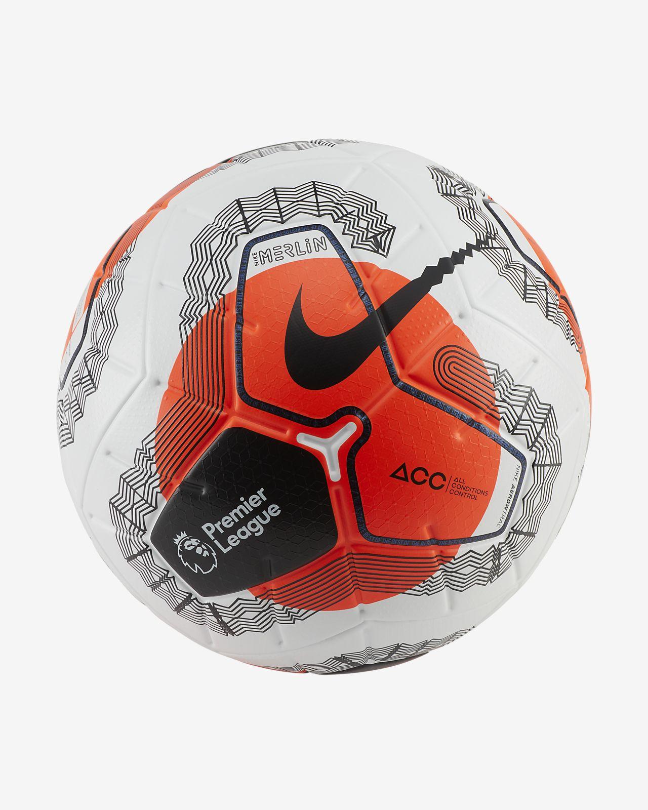 Premier League Tunnel Vision Merlin Soccer Ball