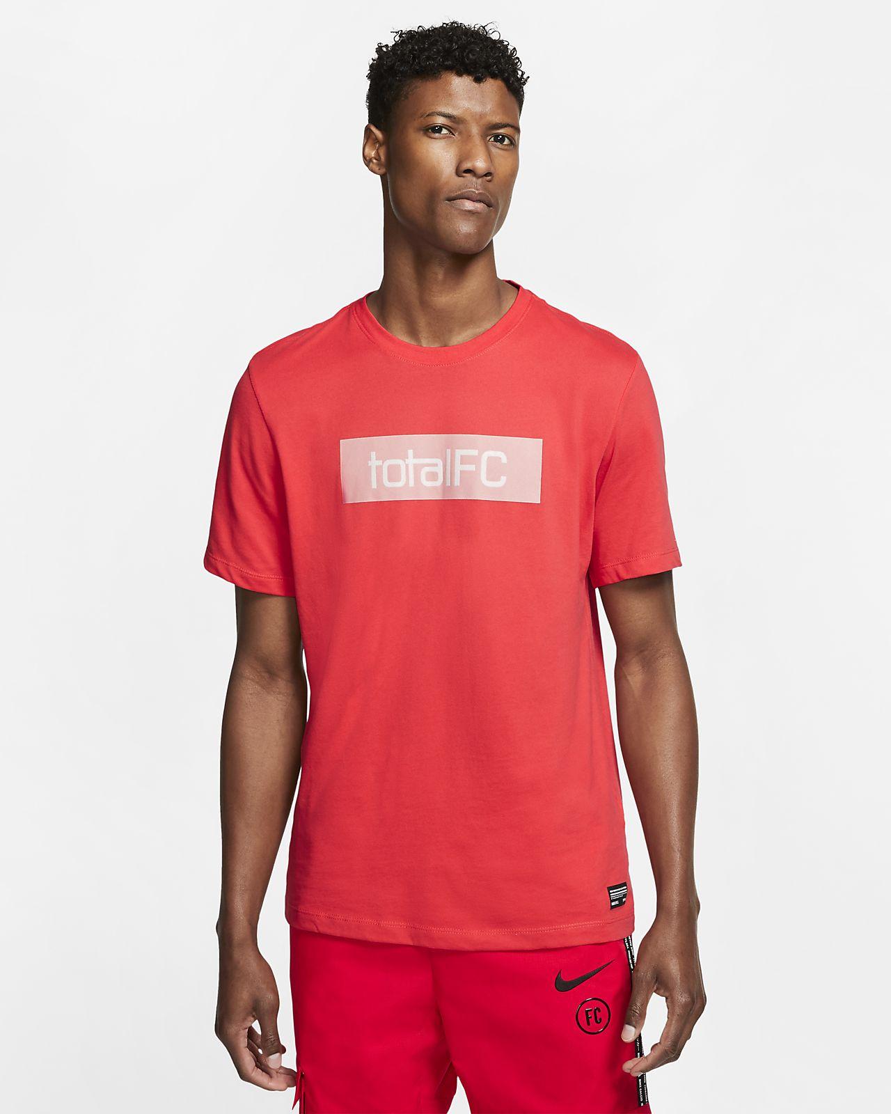 Nike F.C fodbold T shirt til mænd. Nike DK