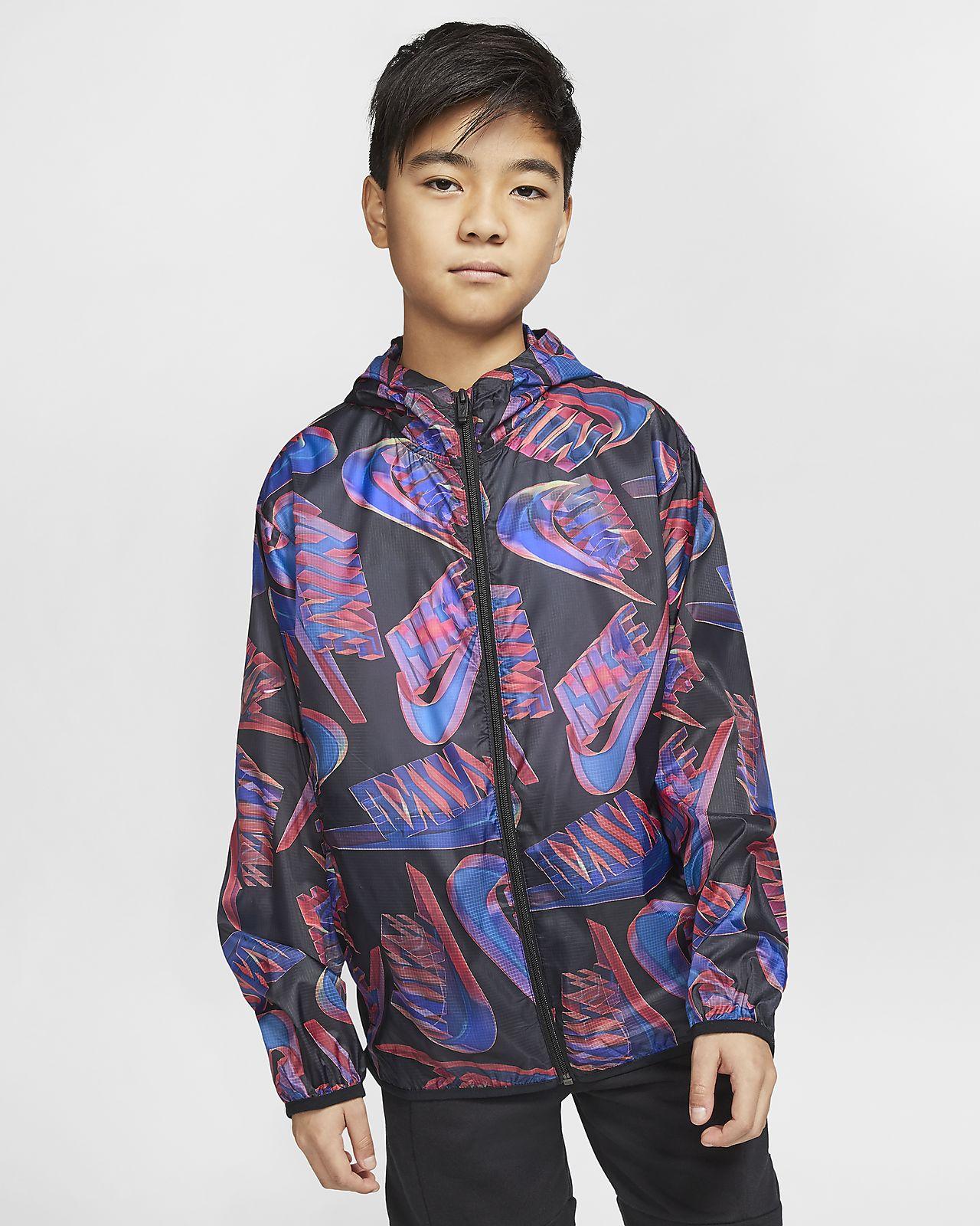 Nike Sportswear Tech Pack pakkbar jakke til store barn (gutt)