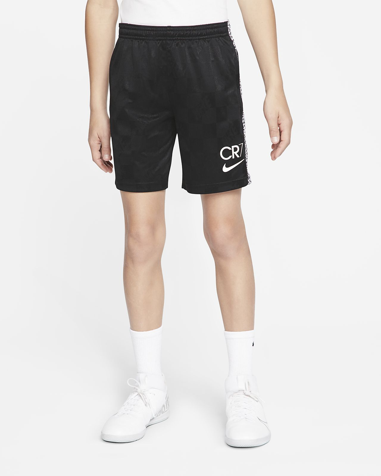 Nike Dri-FIT CR7 Big Kids' Soccer Shorts