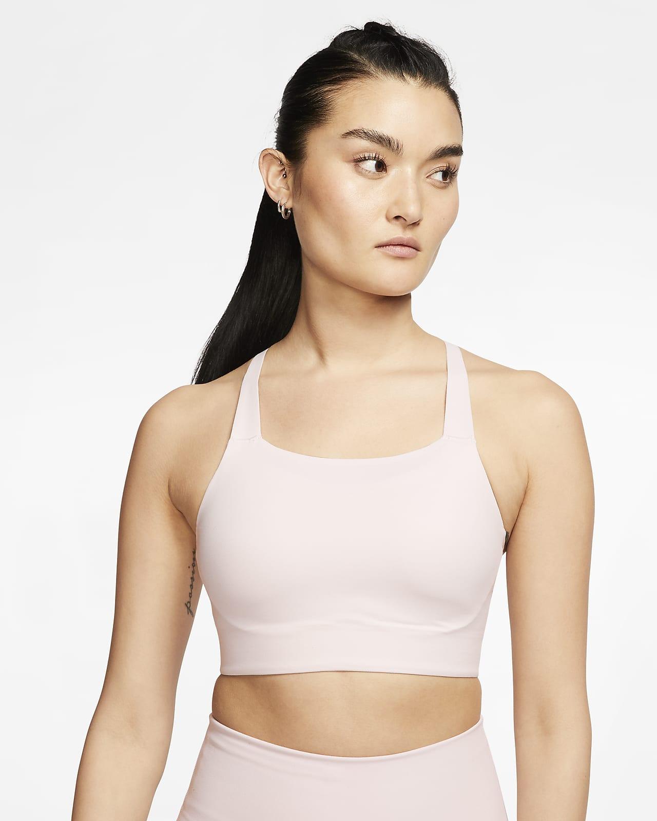 Nike Swoosh Luxe 女款中度支撐型襯墊運動內衣