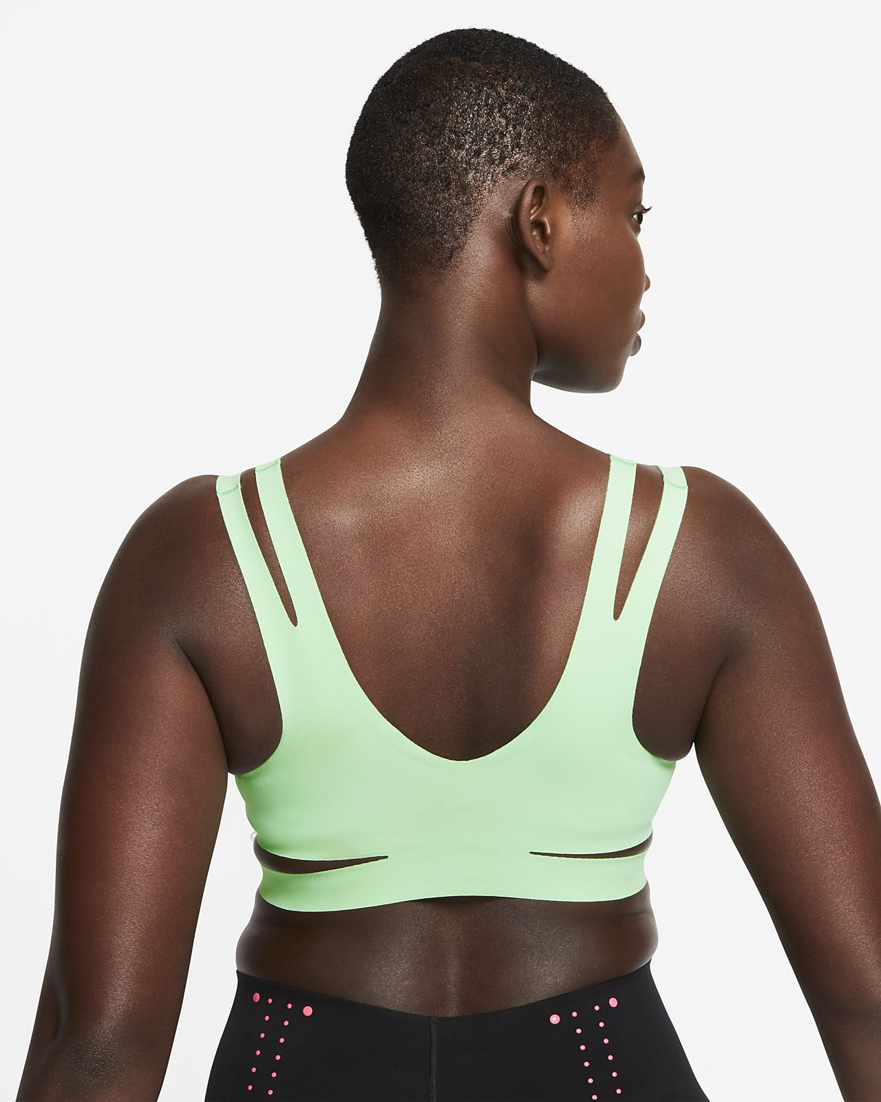 Nike Niet gewatteerde sport bh met lichte ondersteuning