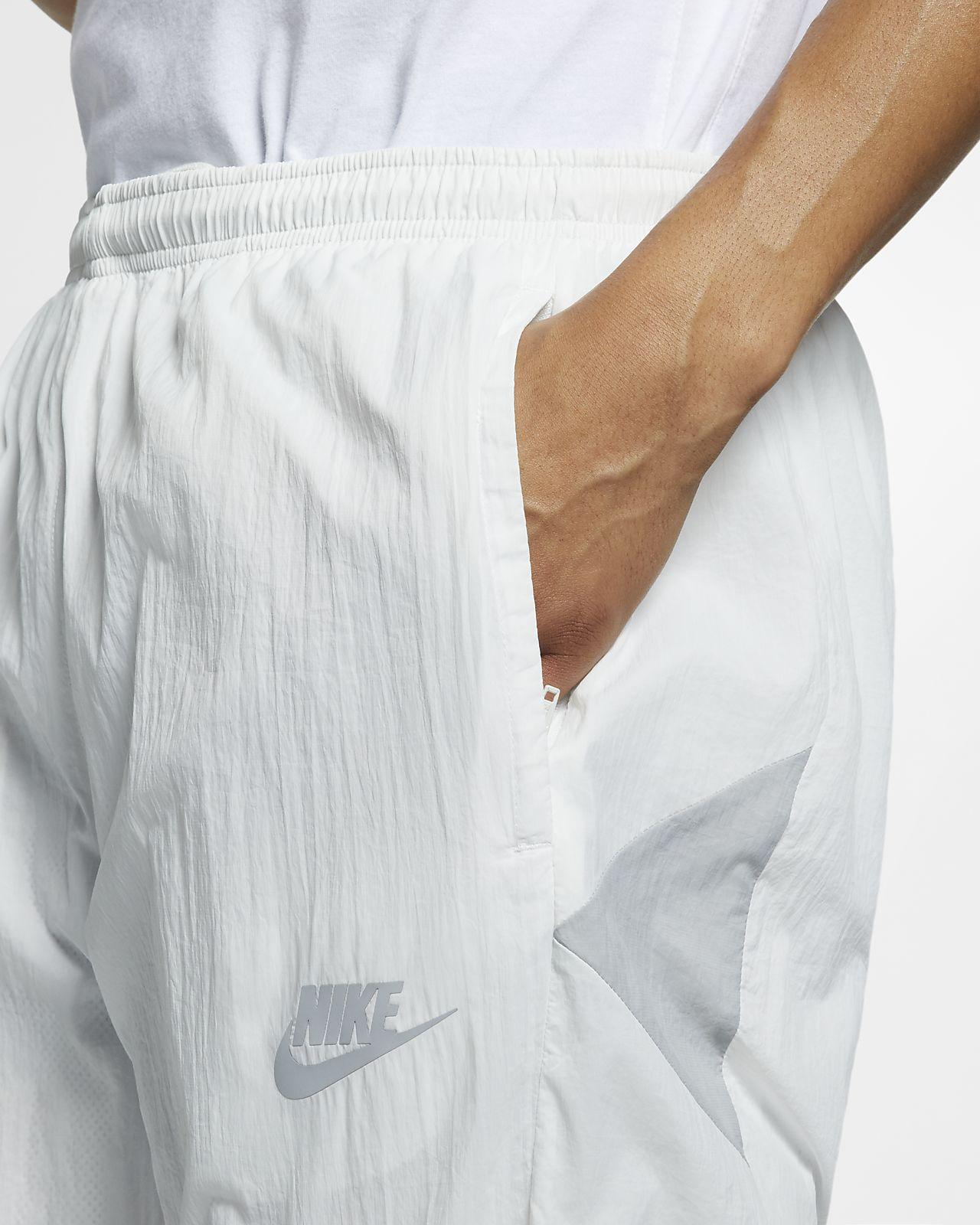 Nike Mens Woven Tennis Jacket WhiteWolf Grey