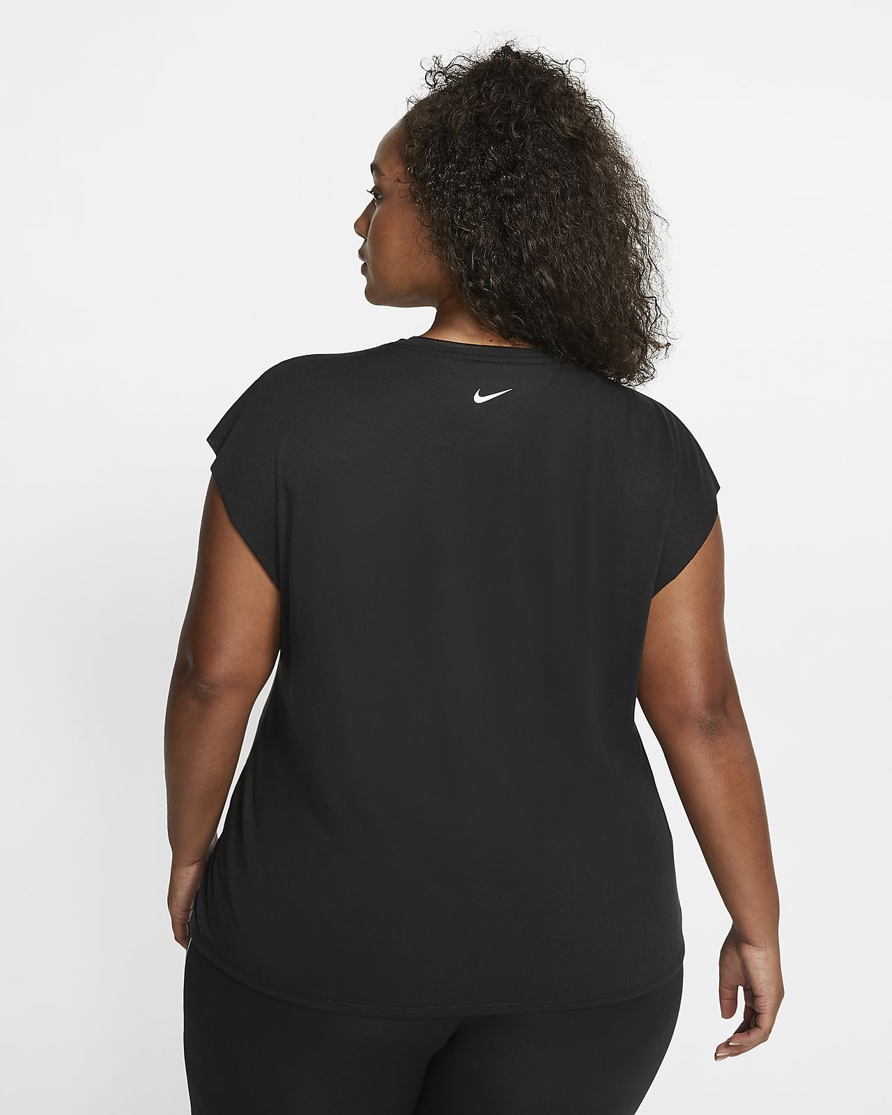 Nike Dri FIT Women's Short Sleeve Graphic Training Top (Plus Size)