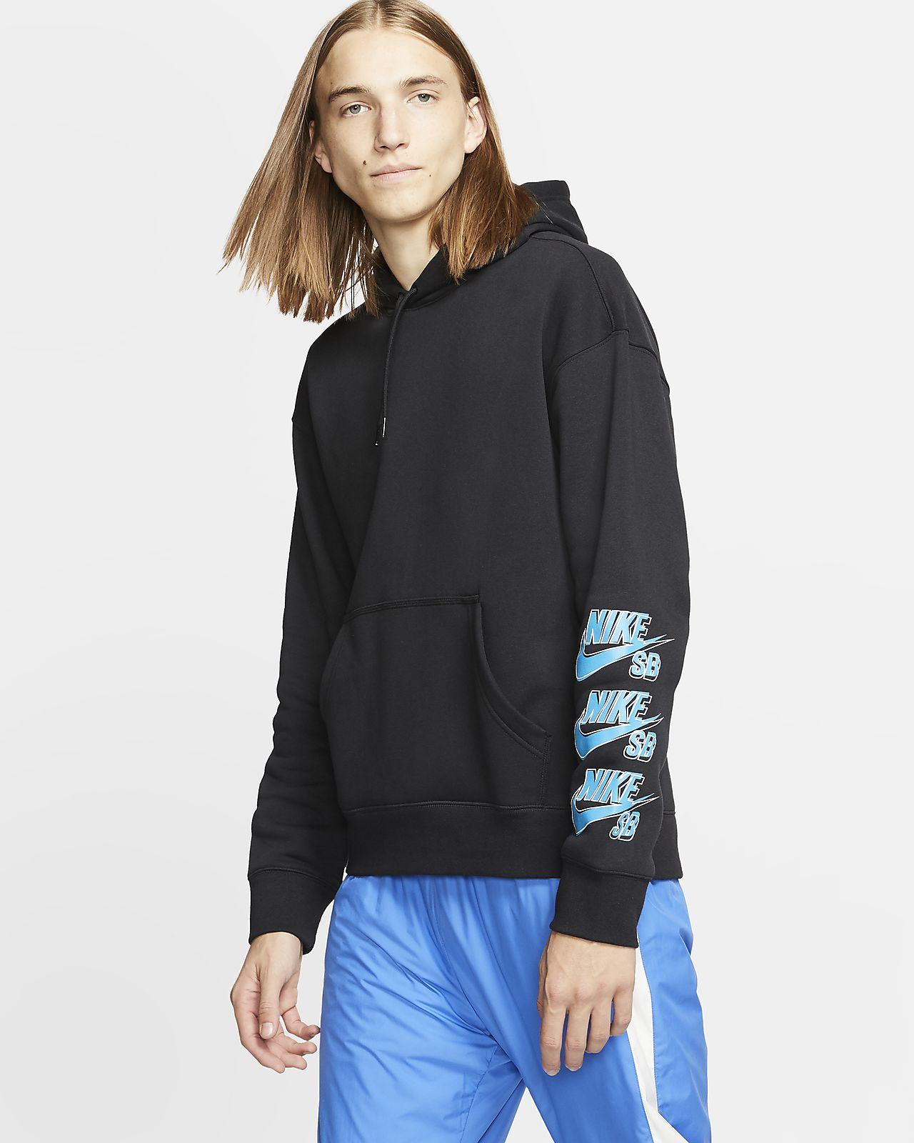 Mens Nike SB Icon Pullover Hoodie