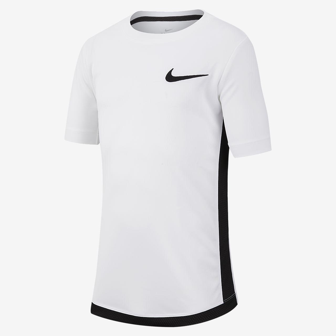 Nike Dri-FIT Older Kids' (Boys') Short-Sleeve Training Top