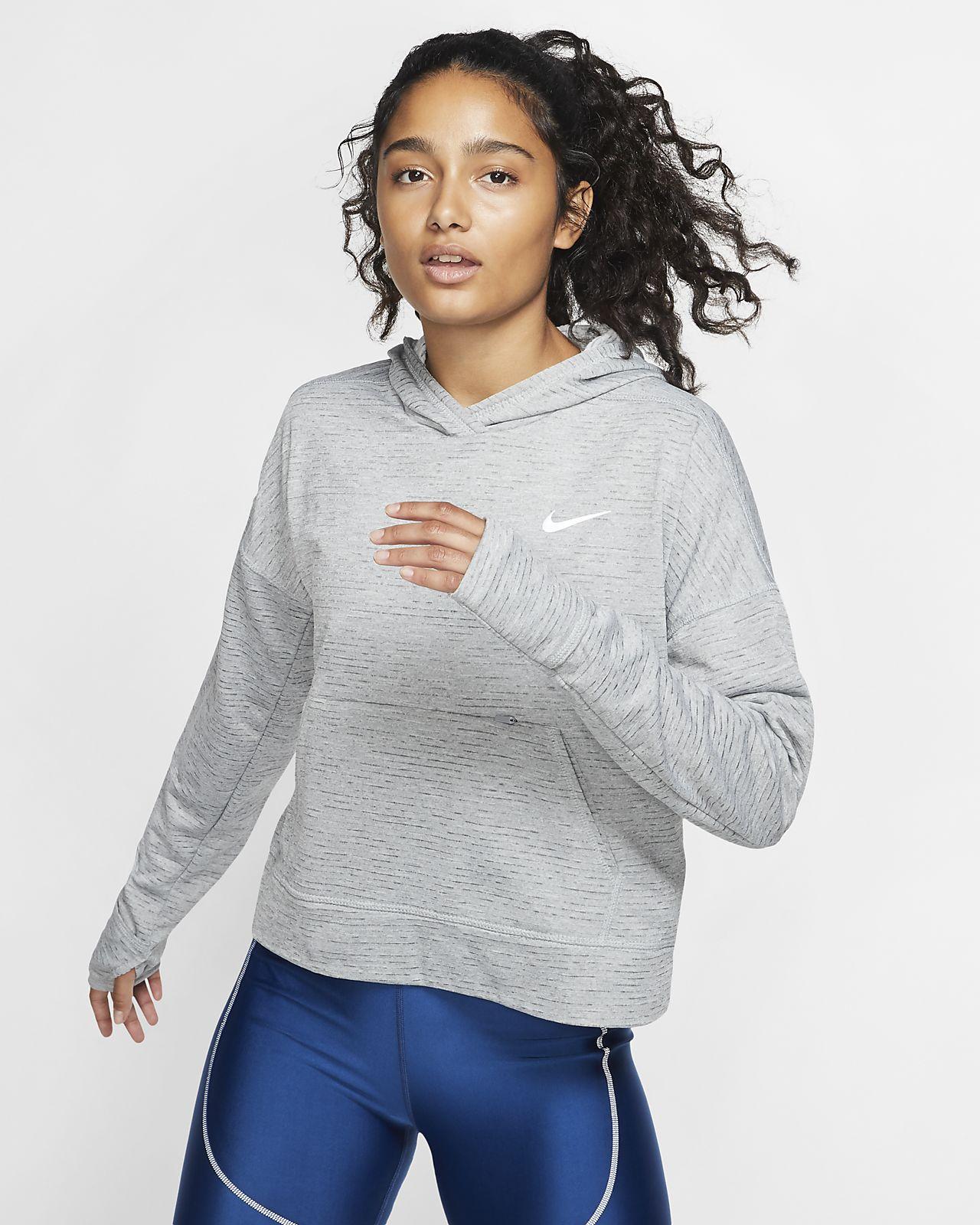Nike Therma-Sphere Women's Running Hoodie. Nike BE