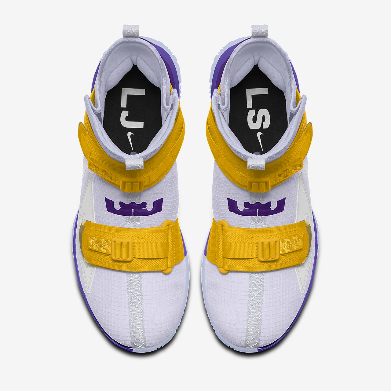 LeBron Soldier XIII By You Custom Basketball Shoe