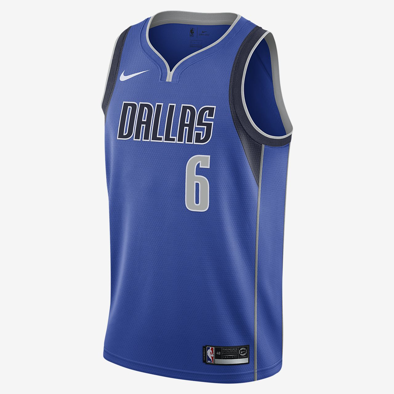 Kristaps Porziņģis Mavericks Icon Edition Men's Nike NBA Swingman Jersey