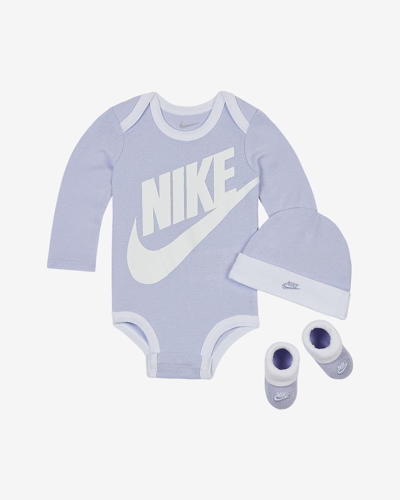 Trzyczęściowy zestaw dla niemowląt (0–6 M) Nike