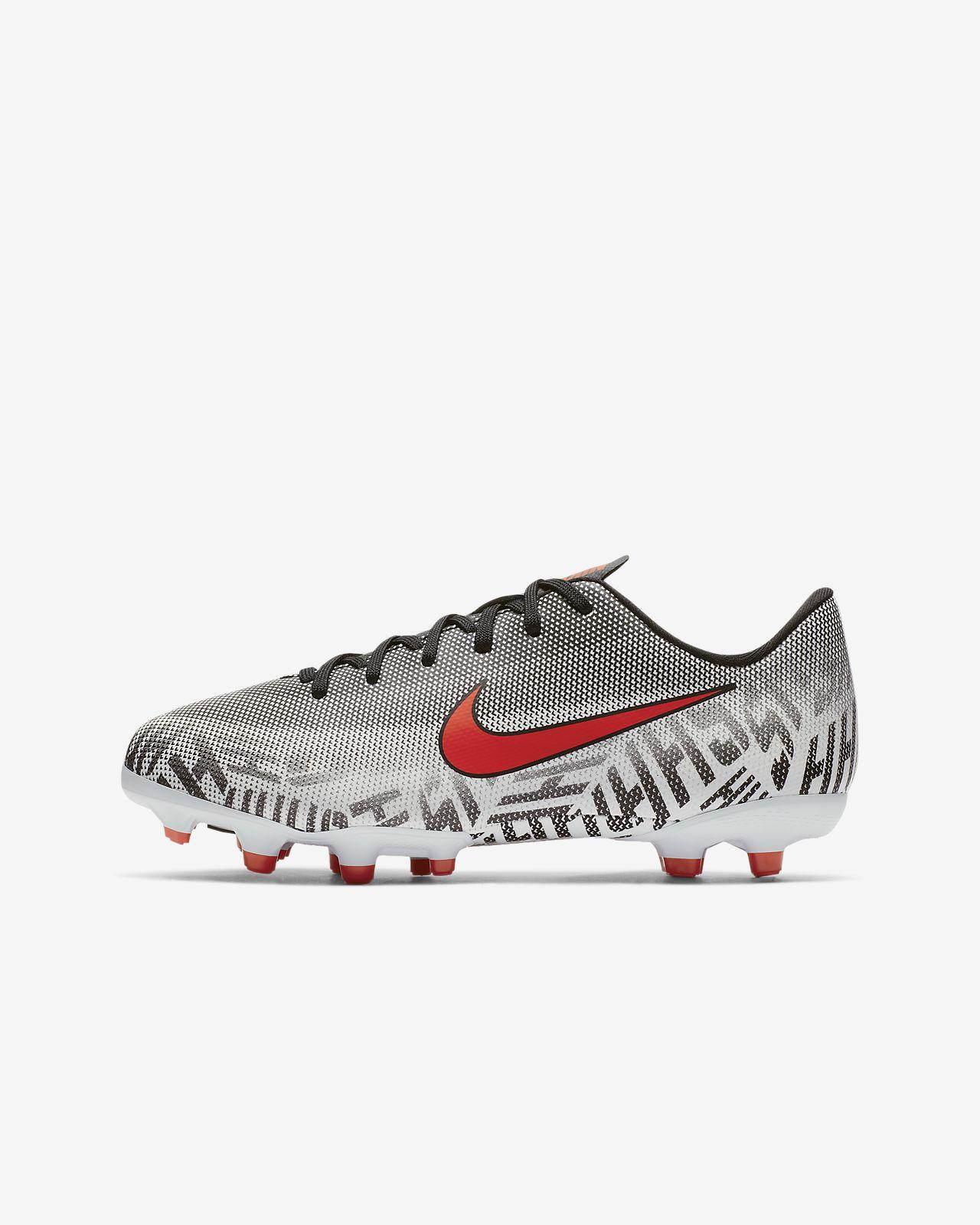 Nike Jr. Mercurial Vapor XII Academy Neymar Jr Fußballschuh für verschiedene Böden für jüngereältere Kinder