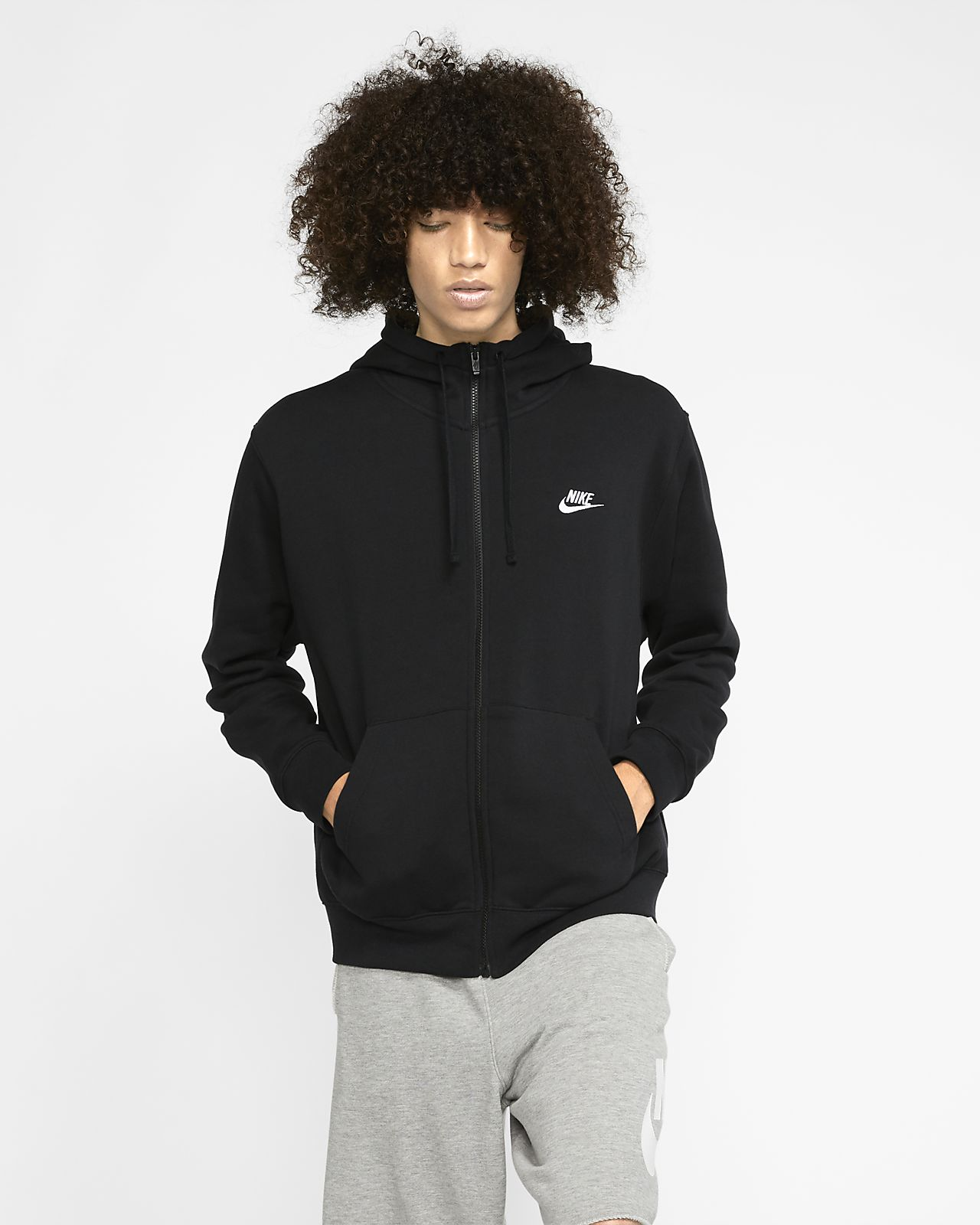 Sweat à capuche et zip Nike Sportswear Club
