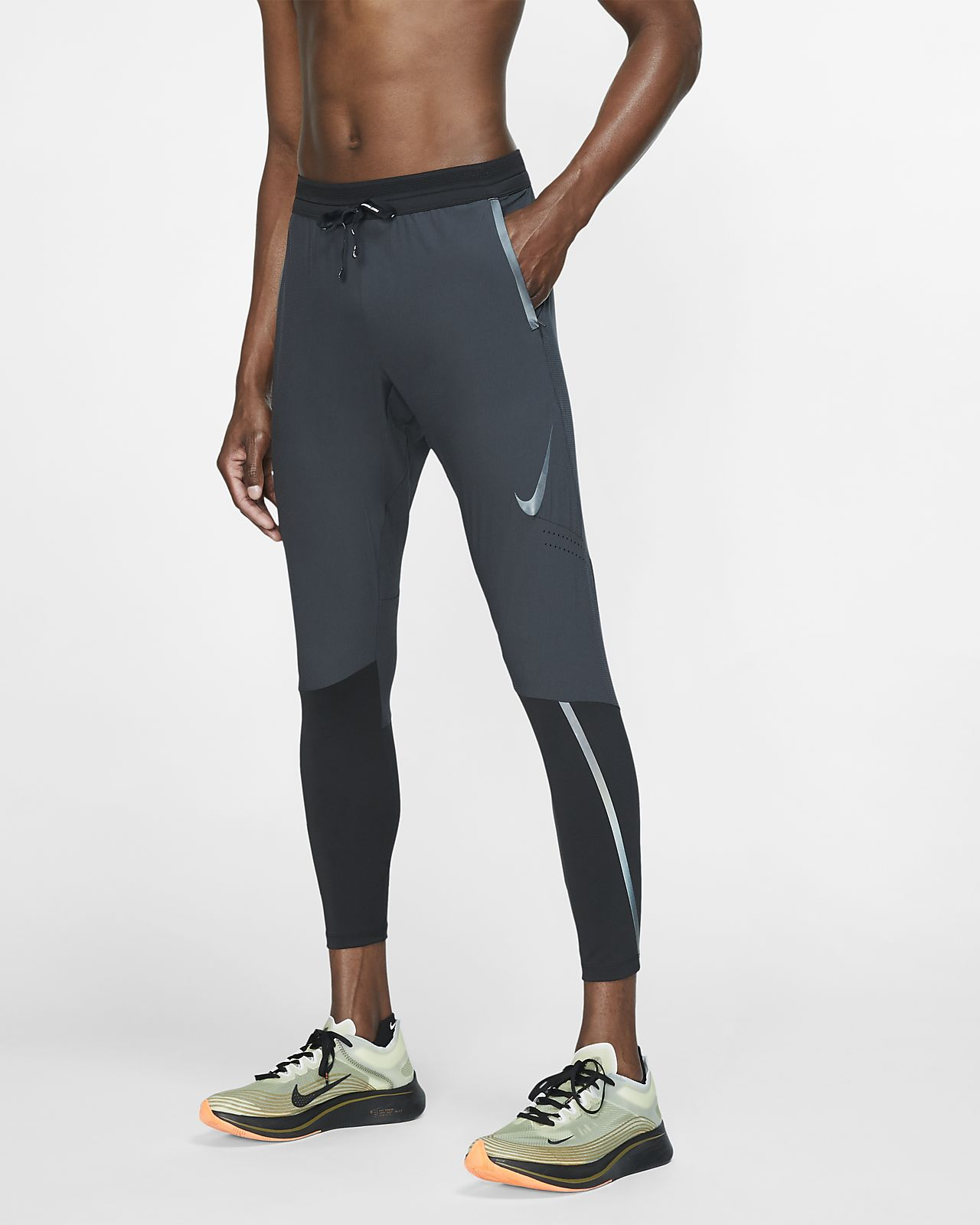 nordic     spodnie do biegania męskie NIKE POWER RUN TIGHT