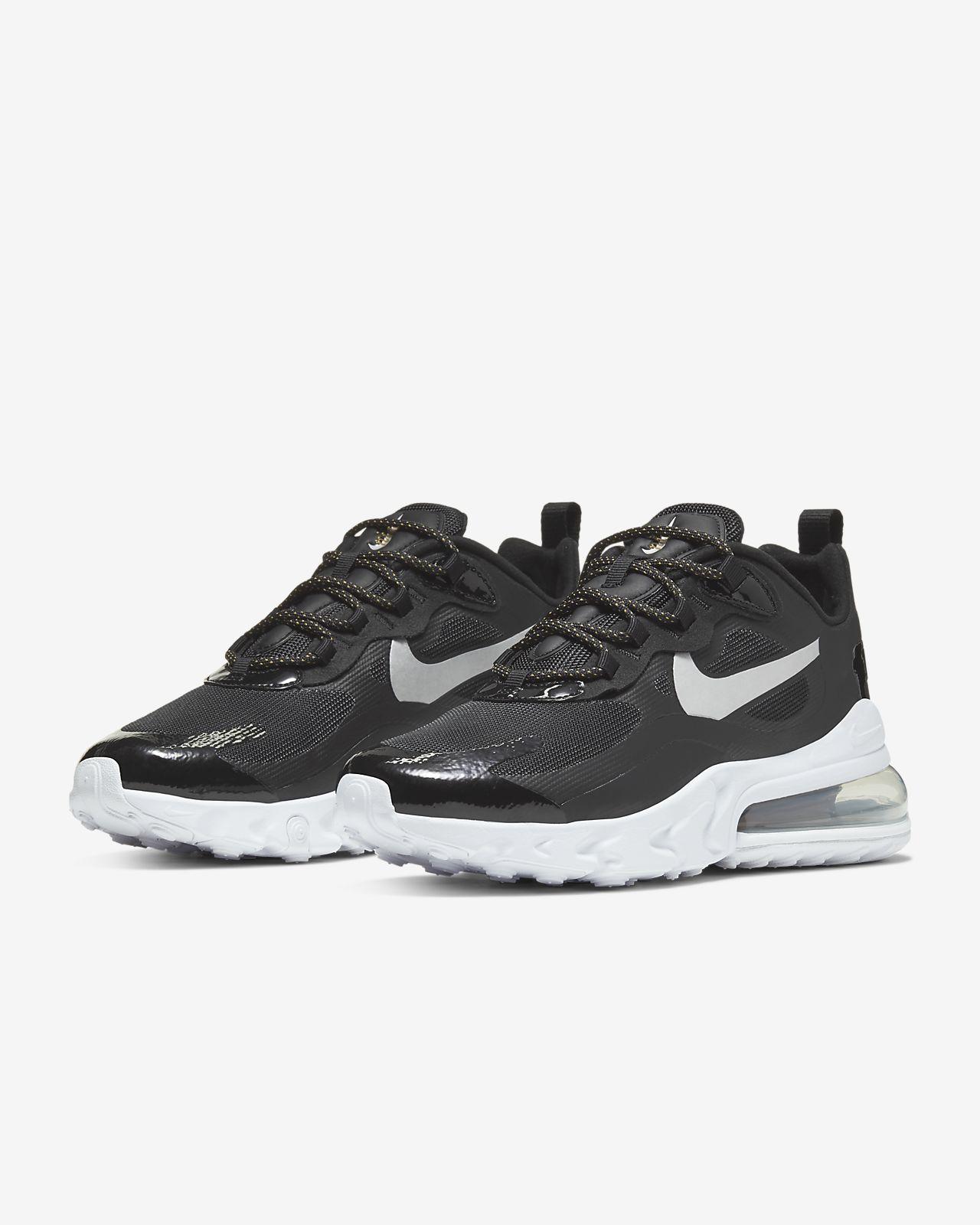 Nike Air Max 270 React (Optical), Sneakers Donna, Scarpe