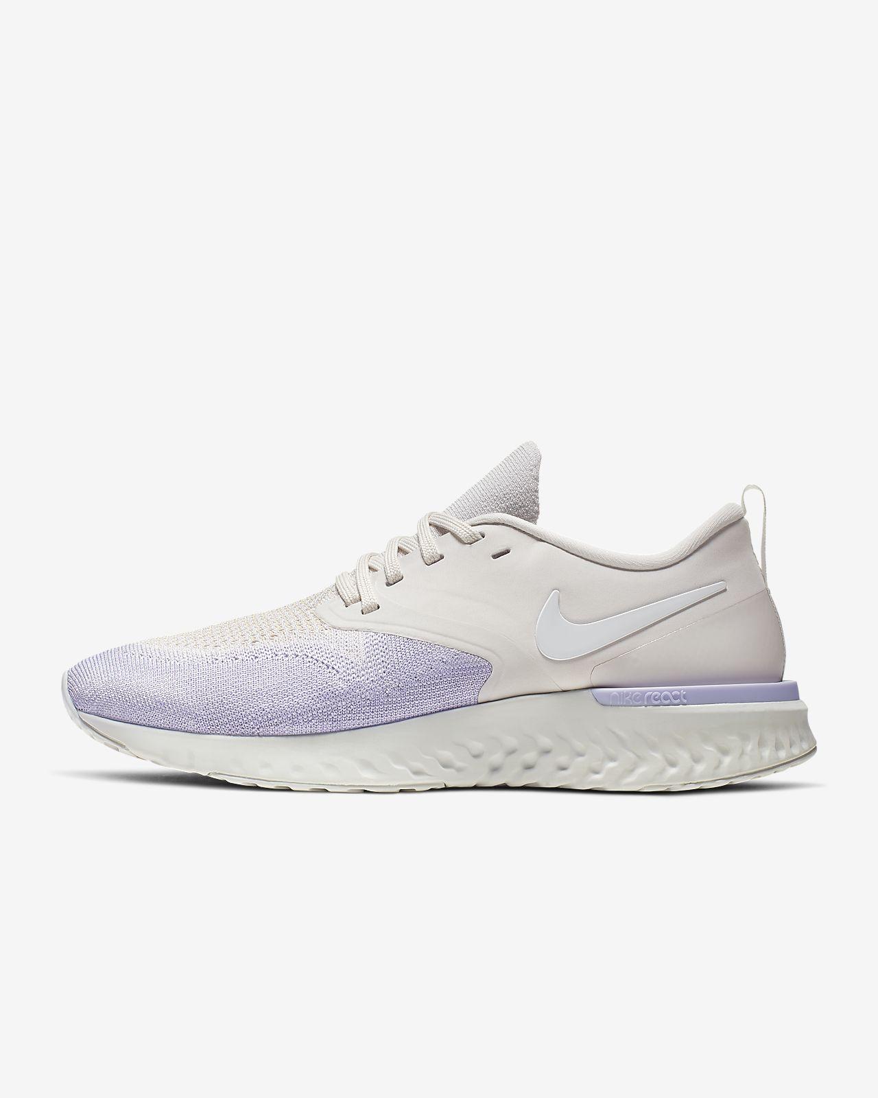 Nike Odyssey React Flyknit 2 Hardloopschoen voor dames