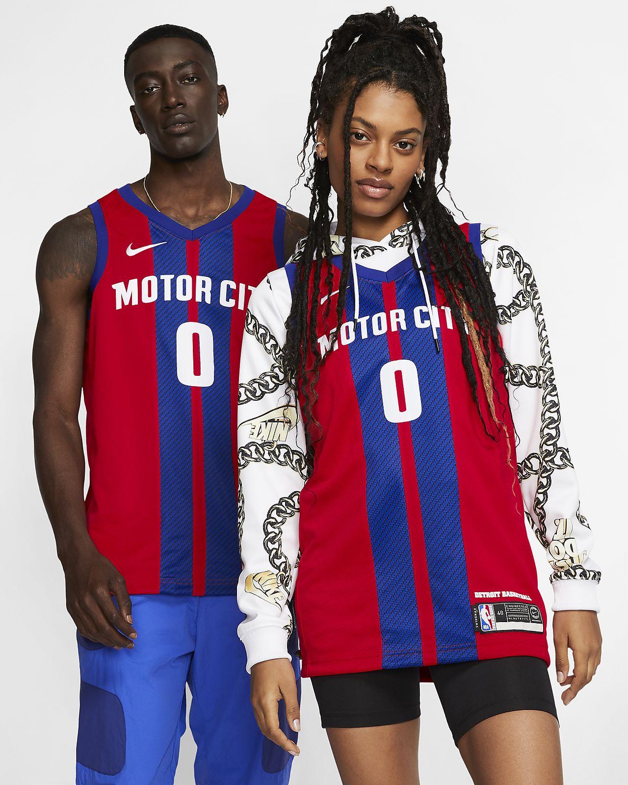 Maillot Nike NBA Swingman Andre Drummond Pistons - City Edition