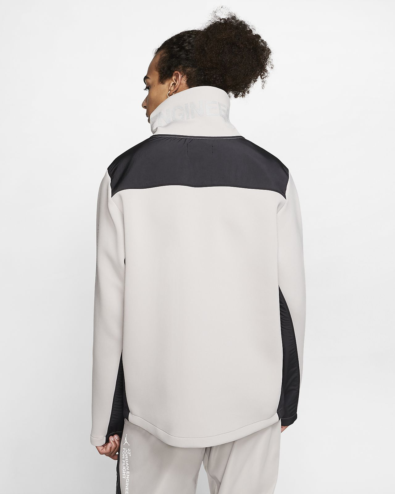 Jordan 23 Engineered Fleece Mock Neck Pullover | Nike fleece