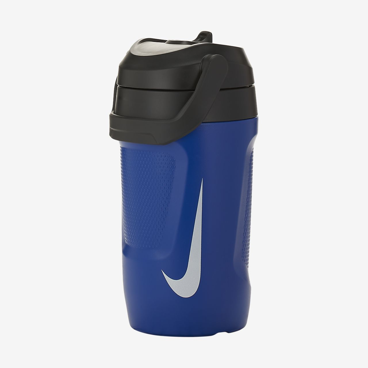 Nike HyperCharge Straw 16oz Gym Sports Water Drinks Bottle No Leak Anthracite