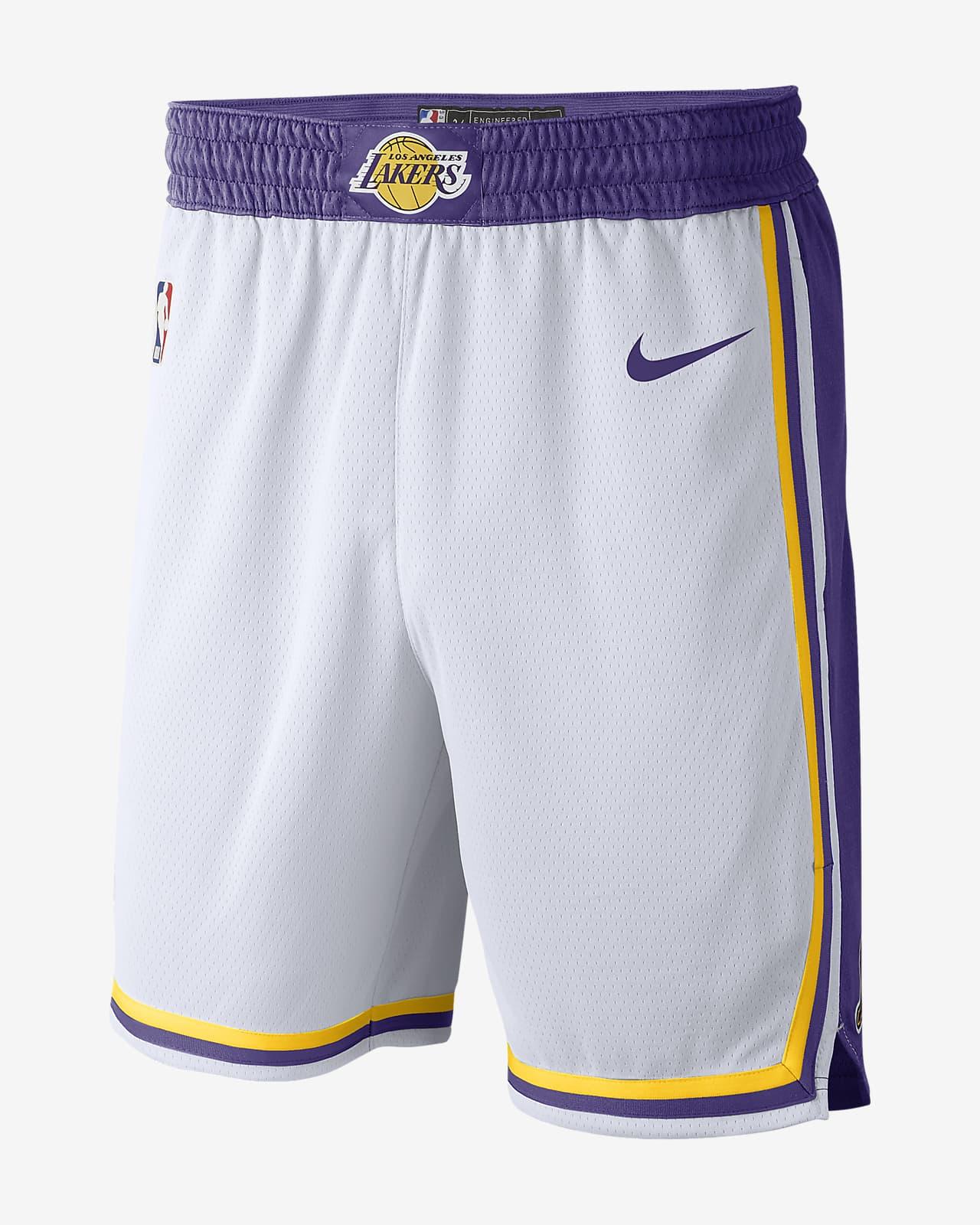 洛杉矶湖人队 Nike NBA Swingman 男子短裤