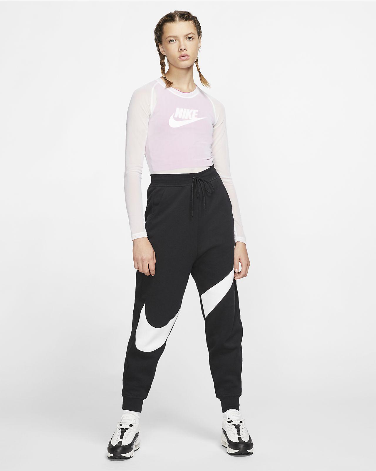 Nike Sportswear Swoosh fleecebukse til dame