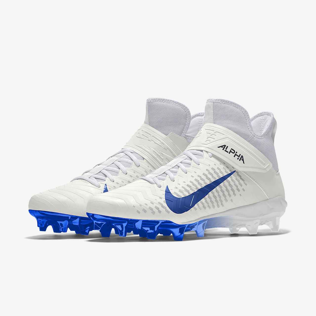 Nike Alpha Menace Pro 2 Mid By You Custom Men's American