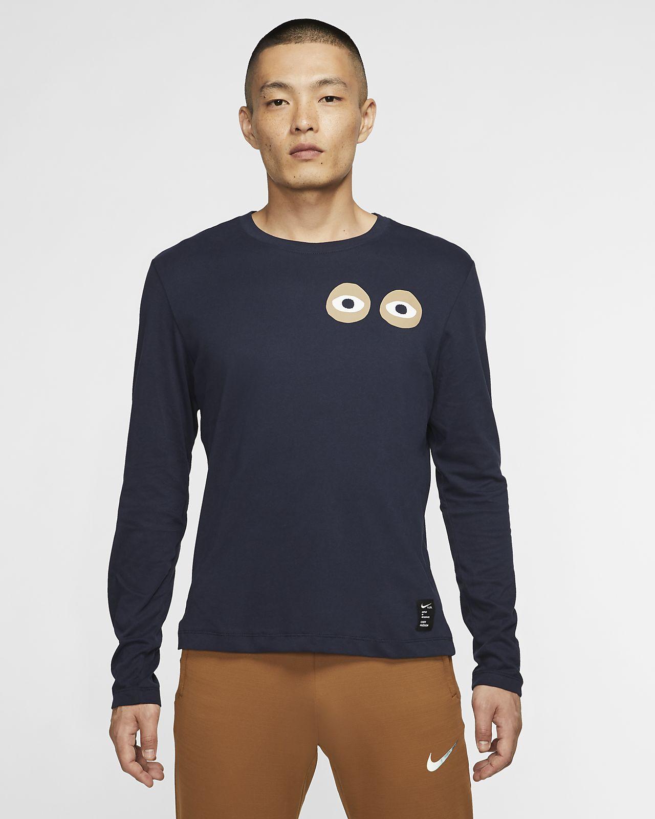t-shirt manche longue nike homme