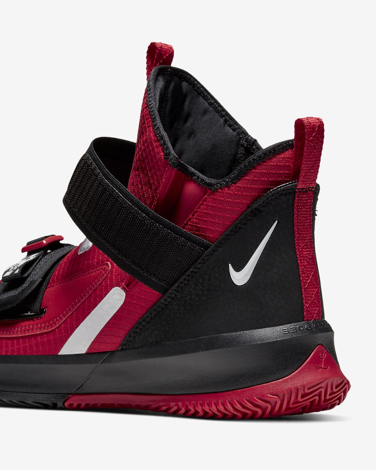 2019 New Release Nike Lebron 13 Gym Red Black White Men Basketball Shoes