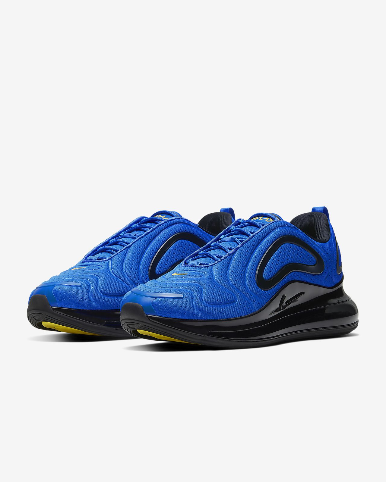 blue air max nike sko