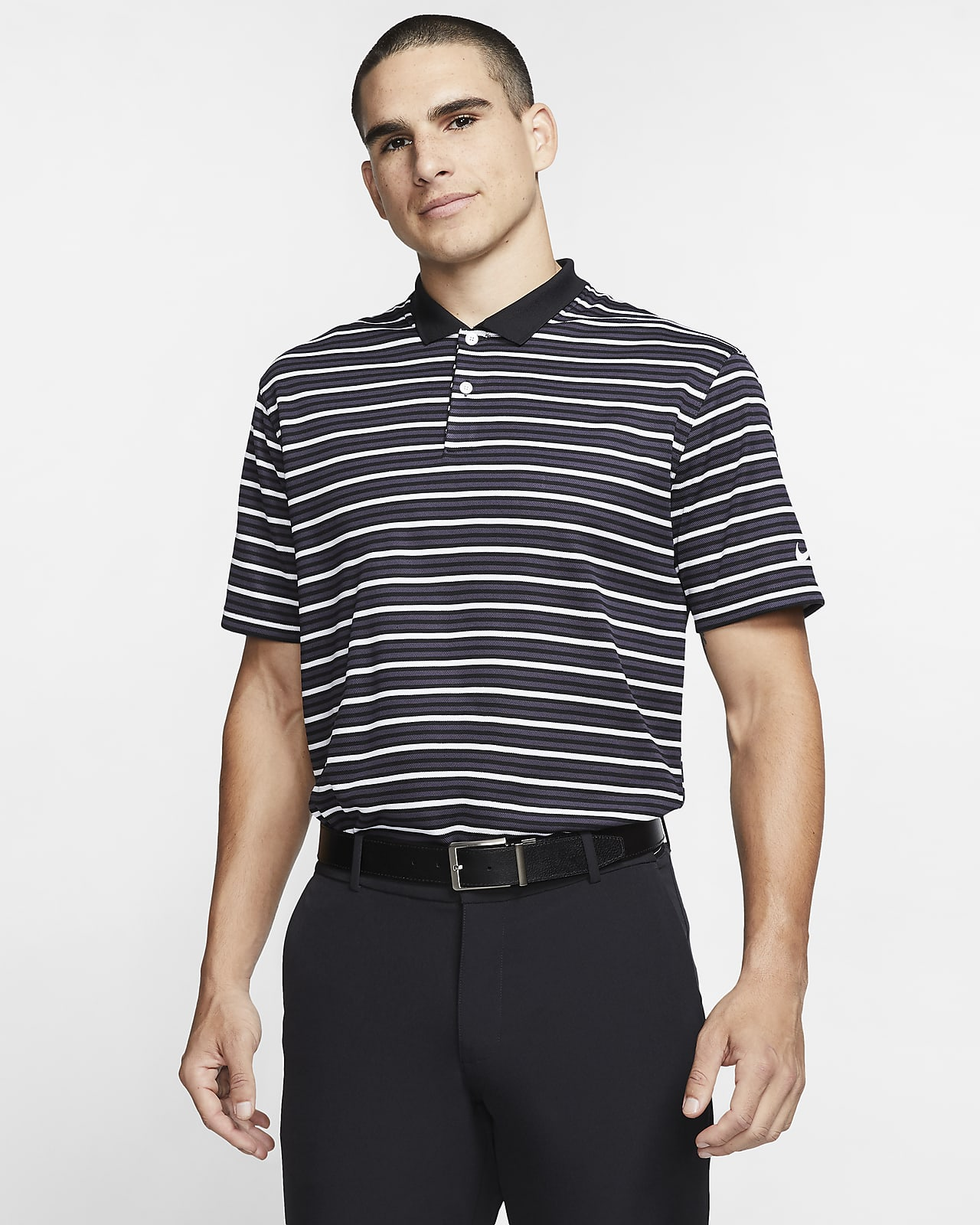 Nike Dri-FIT Victory Men's Striped Golf Polo
