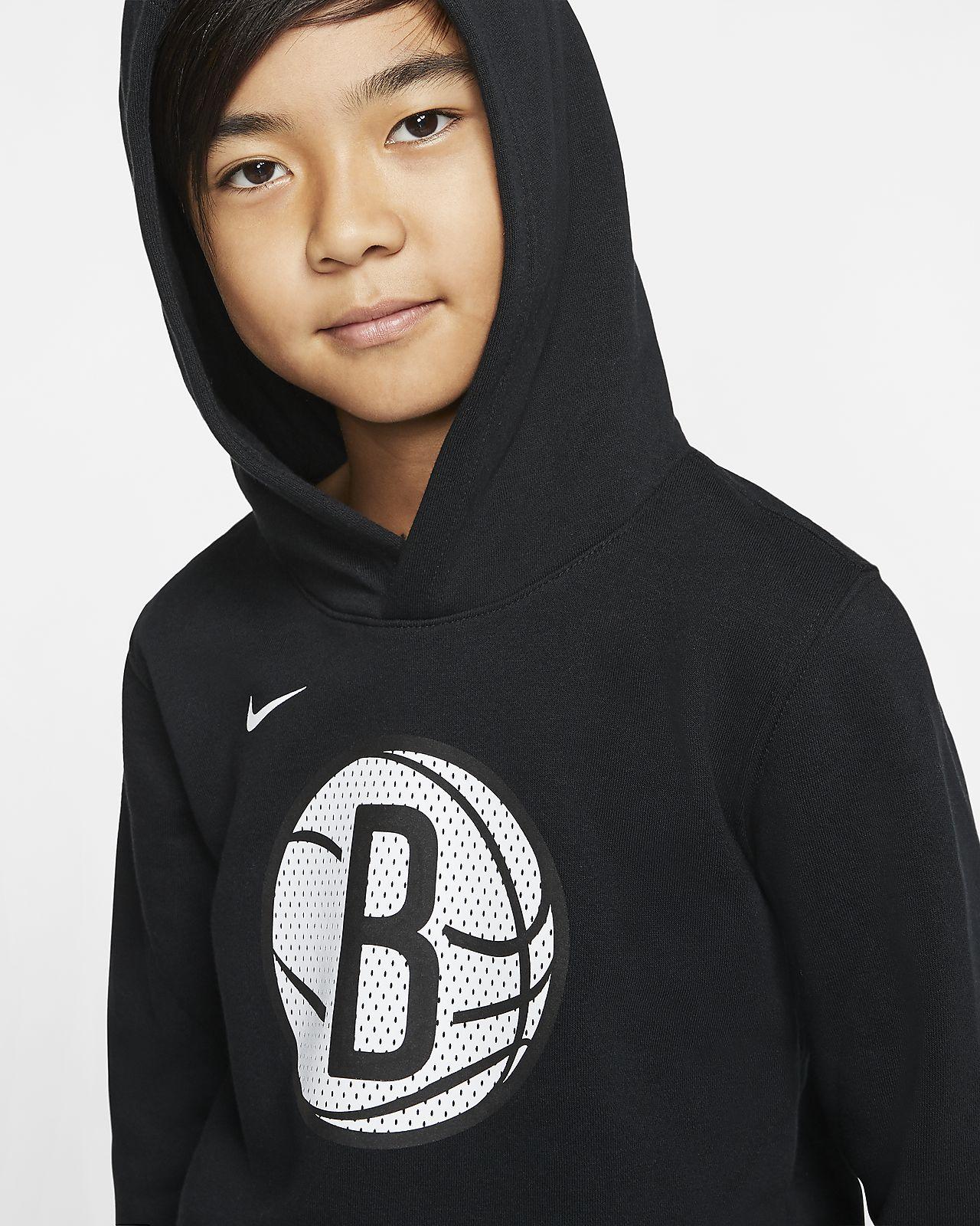 Sweat Nike NBA Brooklyn Nets à capuche