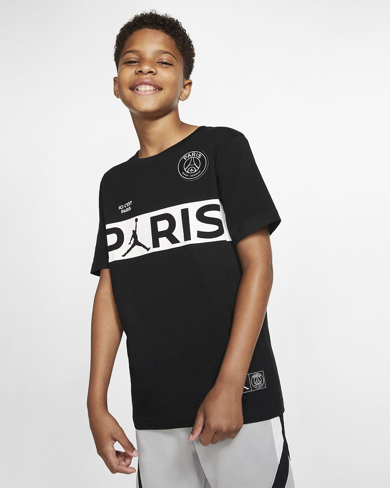 Tee-shirt à manches courtes PSG pour Garçon plus âgé
