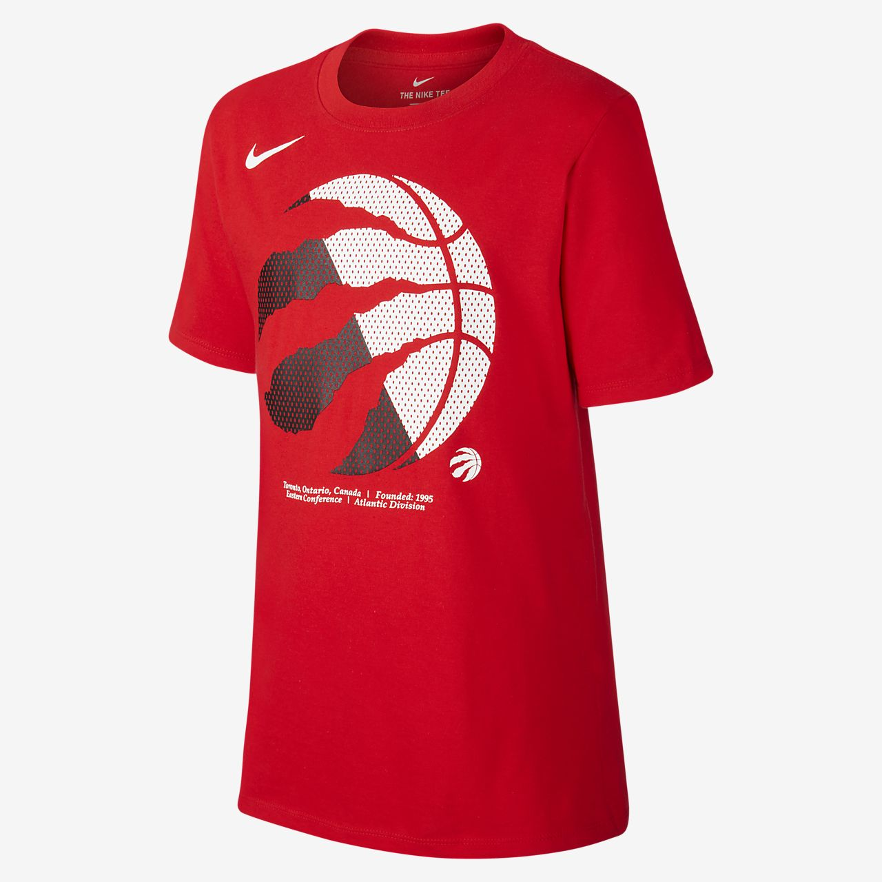 Raptors Logo Camiseta Nike Dri FIT NBA Niñoa