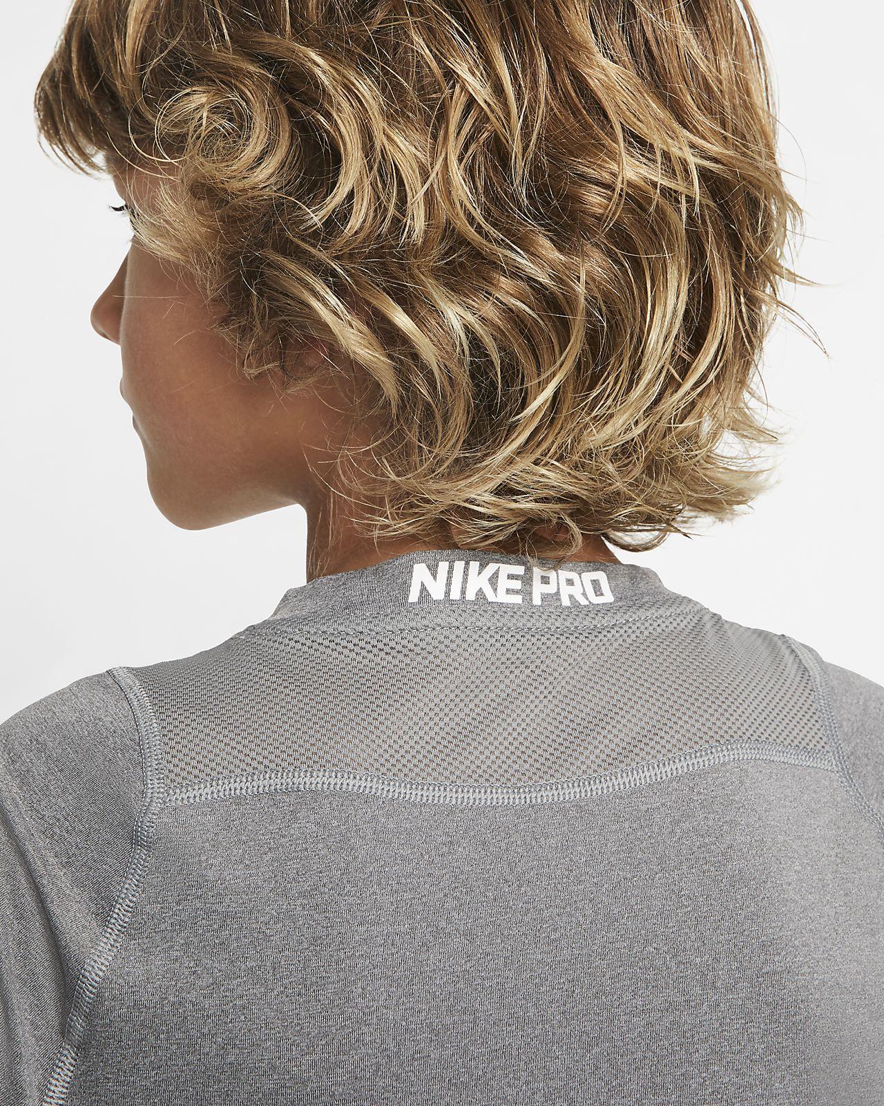 Nike Pro Langarm Trainingsoberteil für ältere Kinder (Jungen)