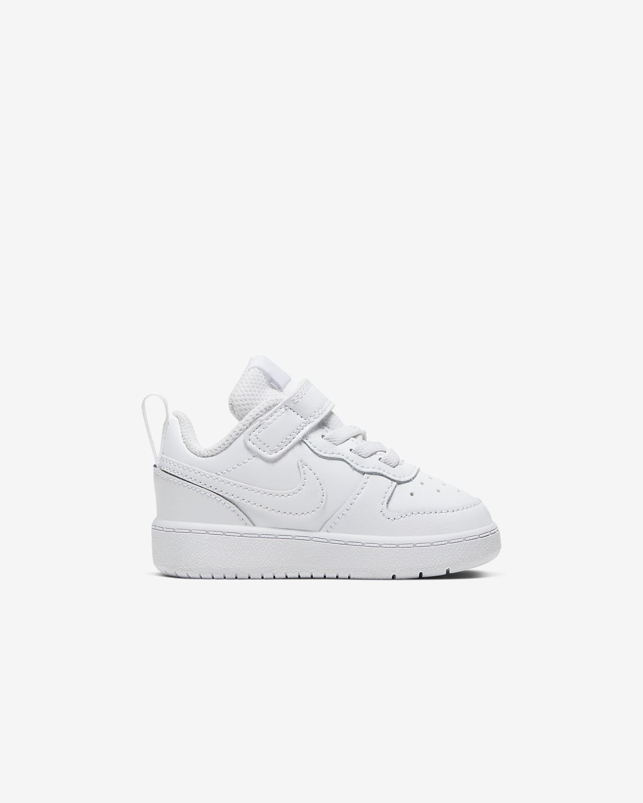 Nike Court Borough Low 2 jr sneakers WHITEWHITE WHITE