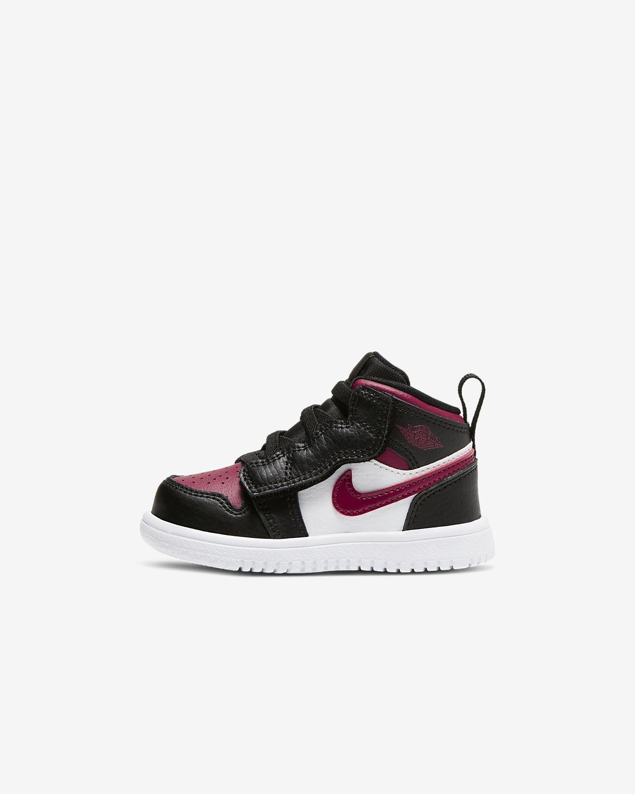 Air Jordan 1 Mid Alt sko til babyersmåbørn