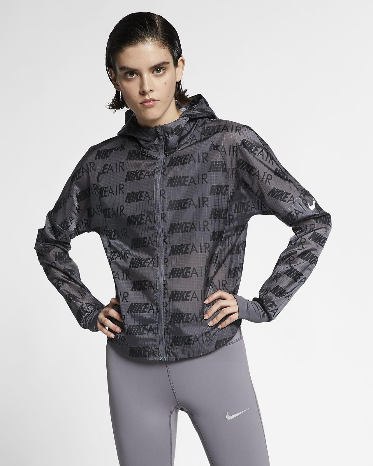 Dámská běžecká bunda Nike Air s kapucí