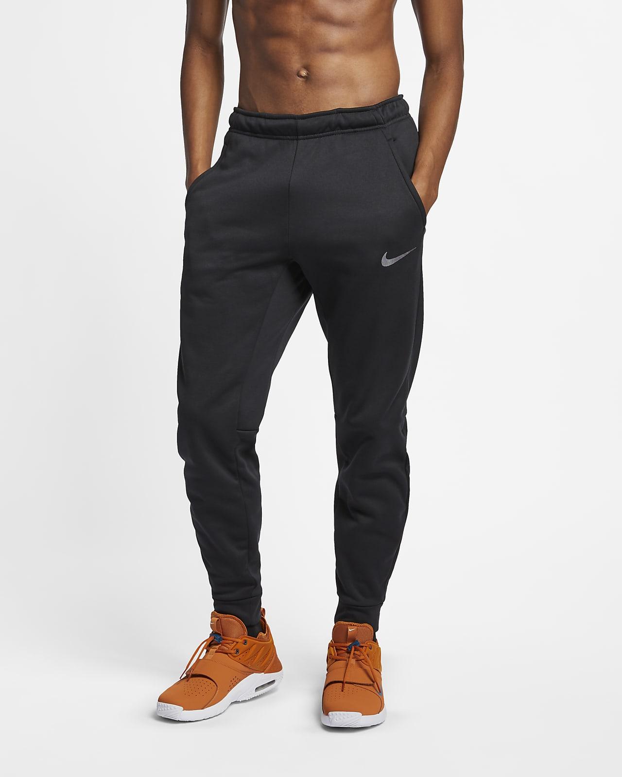 Nike Therma-FIT schmal zulaufende Trainingshose für Herren