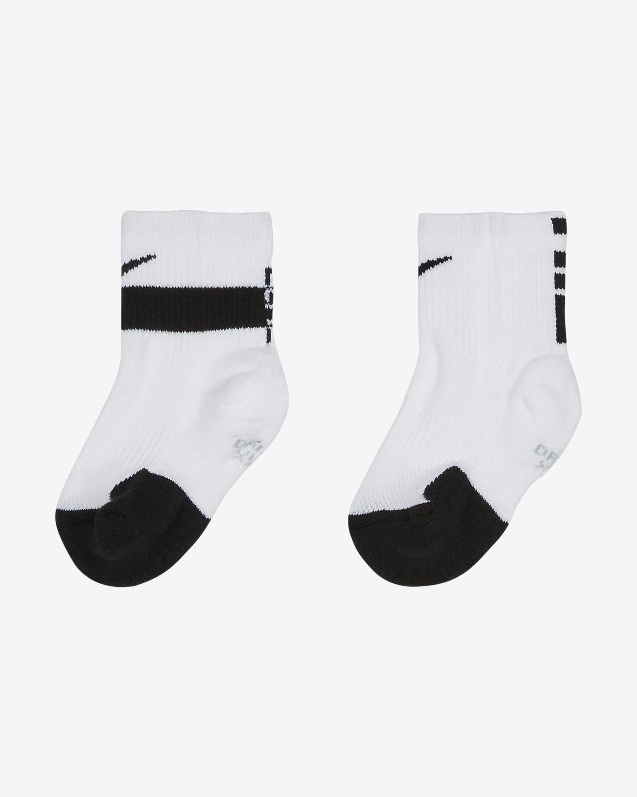 Calcetines largos para niños pequeños Nike Dri-FIT Elite