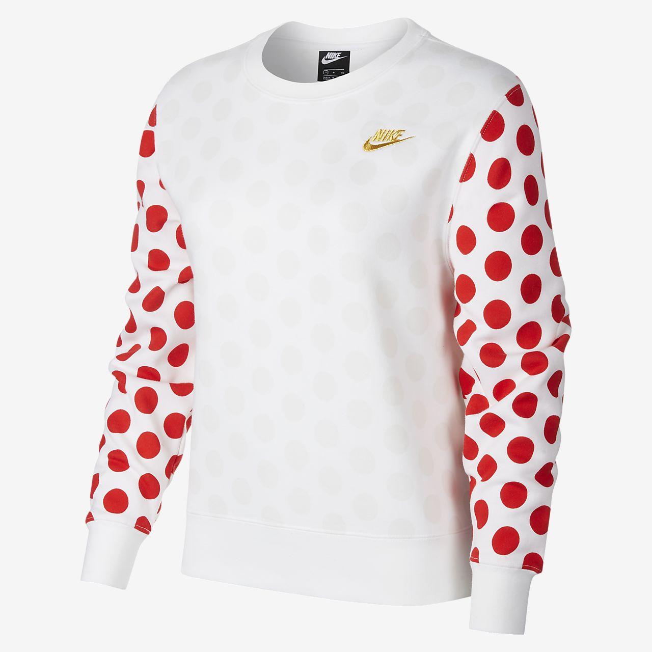 Nike Sportswear Christmas 女子起绒圆领上衣