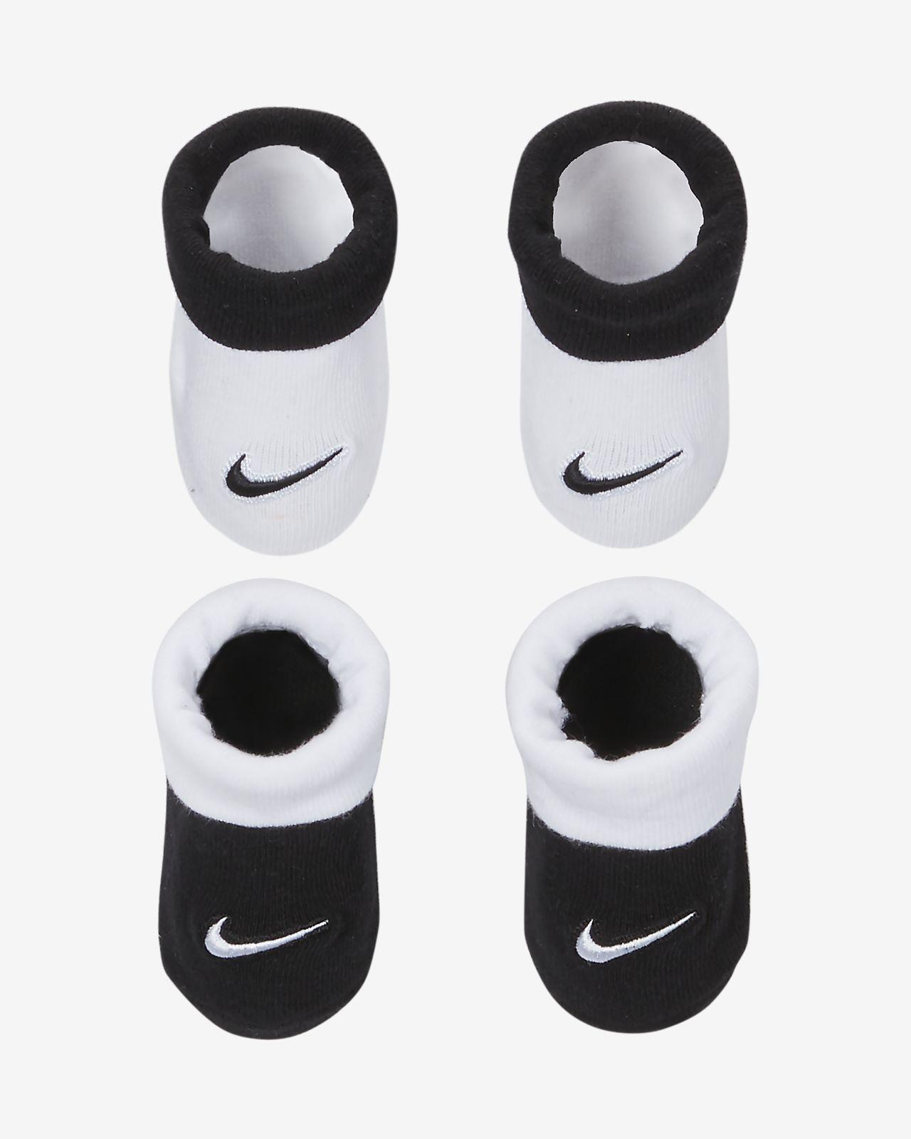 Nike Baby (0-6M) Booties (2 Pairs)
