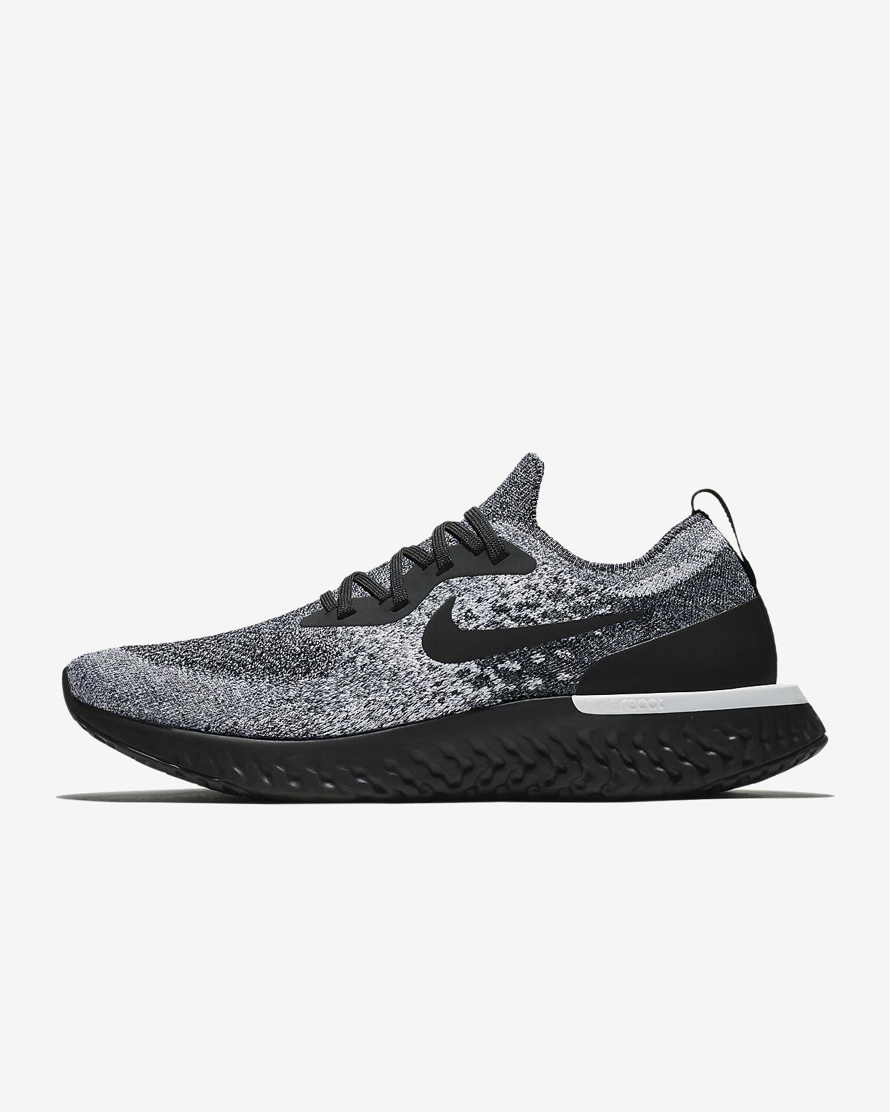 รองเท้าวิ่งผู้ชาย Nike Epic React Flyknit 1