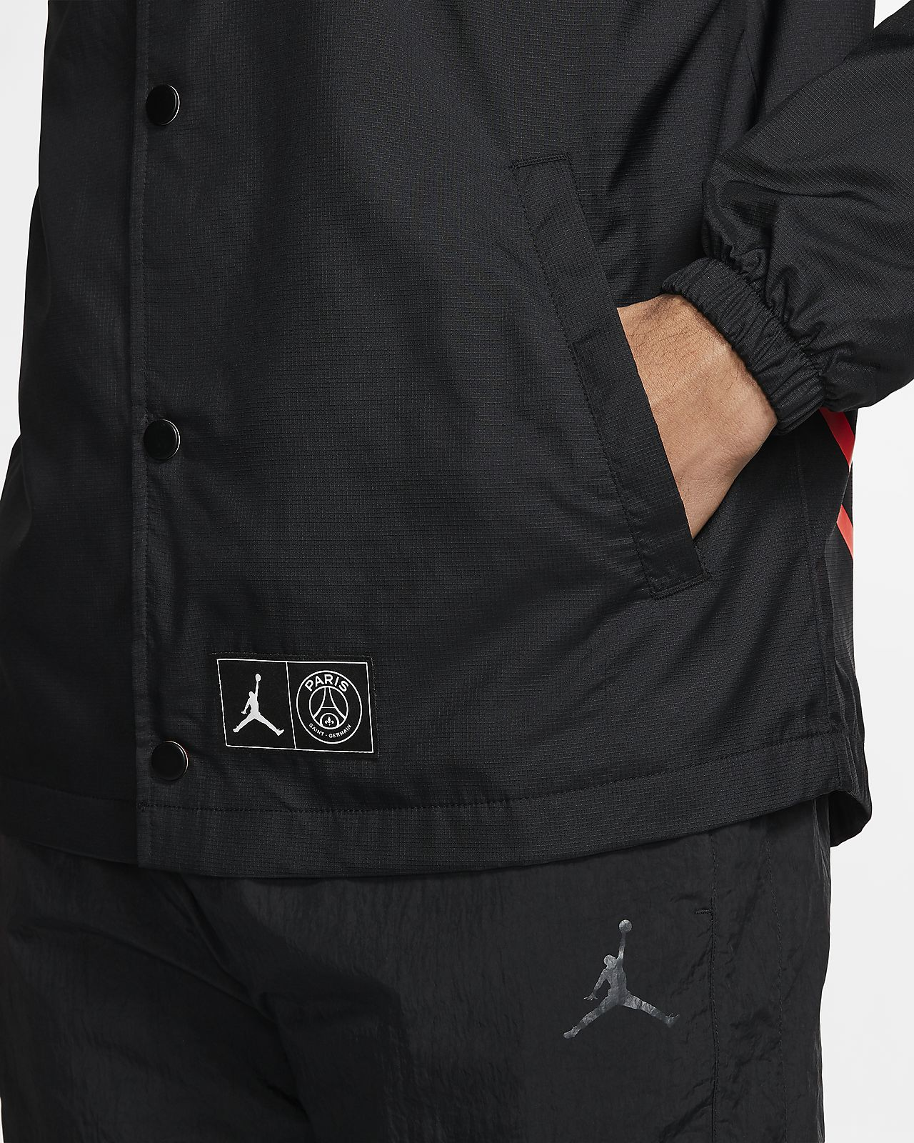 NIKE JORDAN X PSG COACHES JACKET