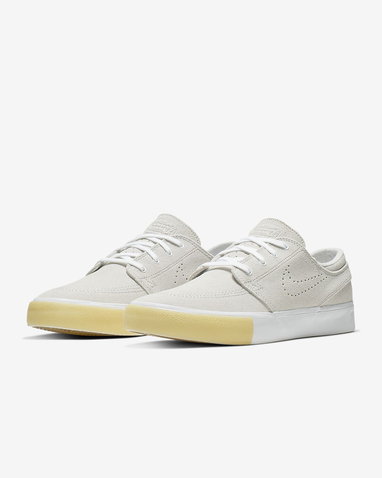 Trainers   Nike SB Mens Zoom Stefan Janoski Shoes Vast Grey black